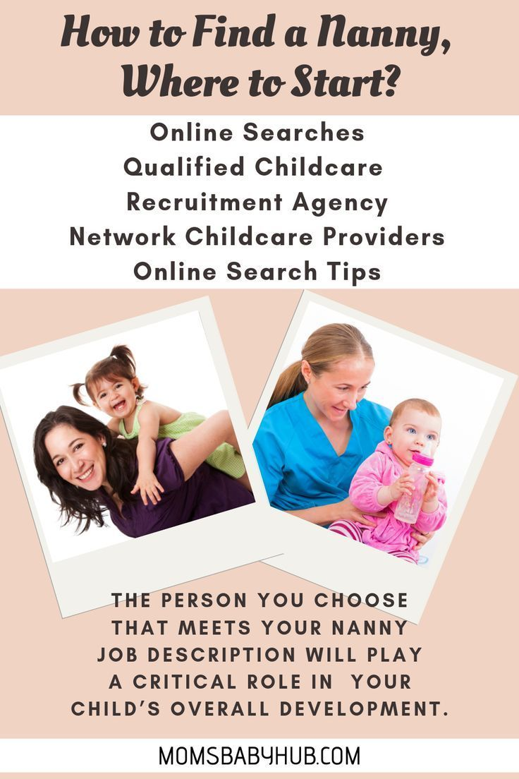 How to find a nanny guide with images nanny nanny job
