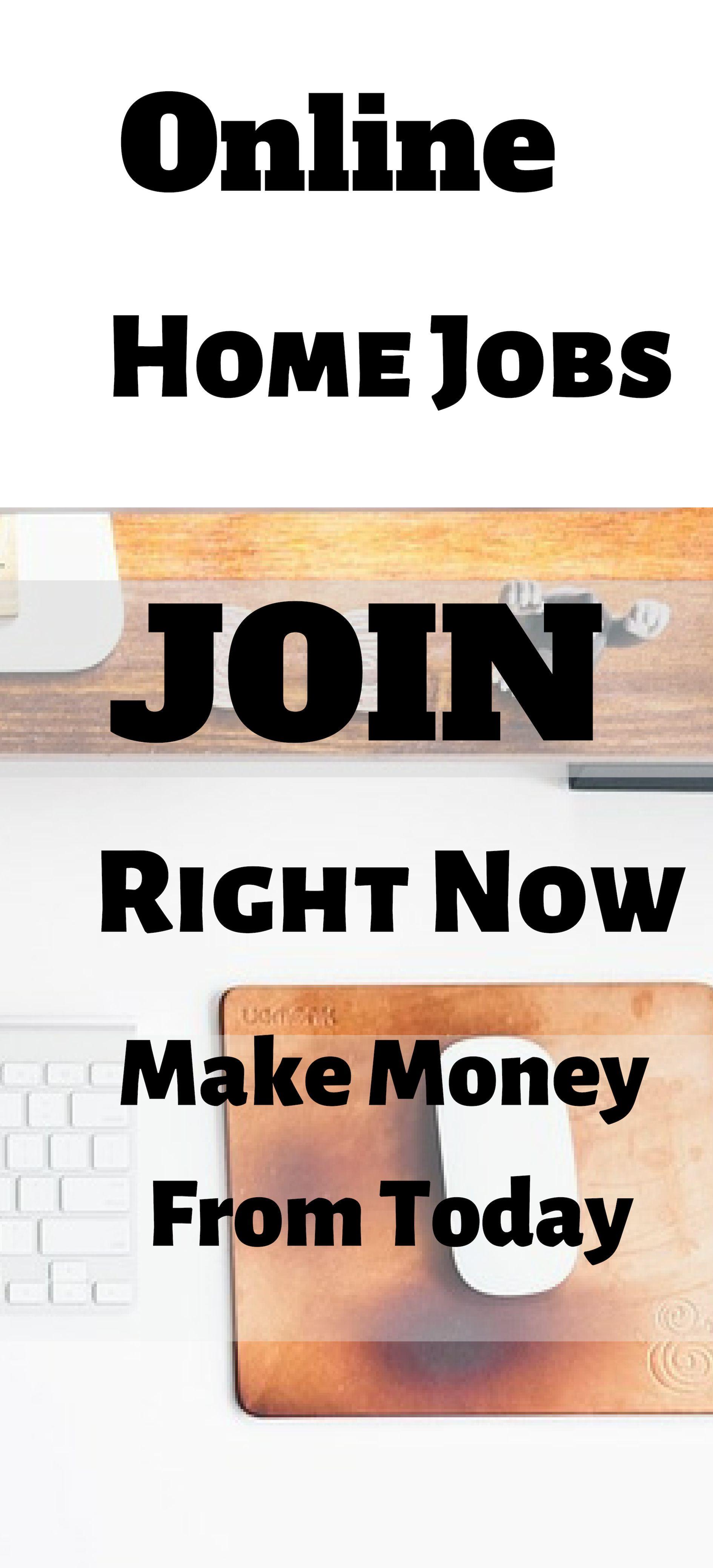 Online-Startseite Jobs   Verdienen Sie Geld von heute.   – Make money at home