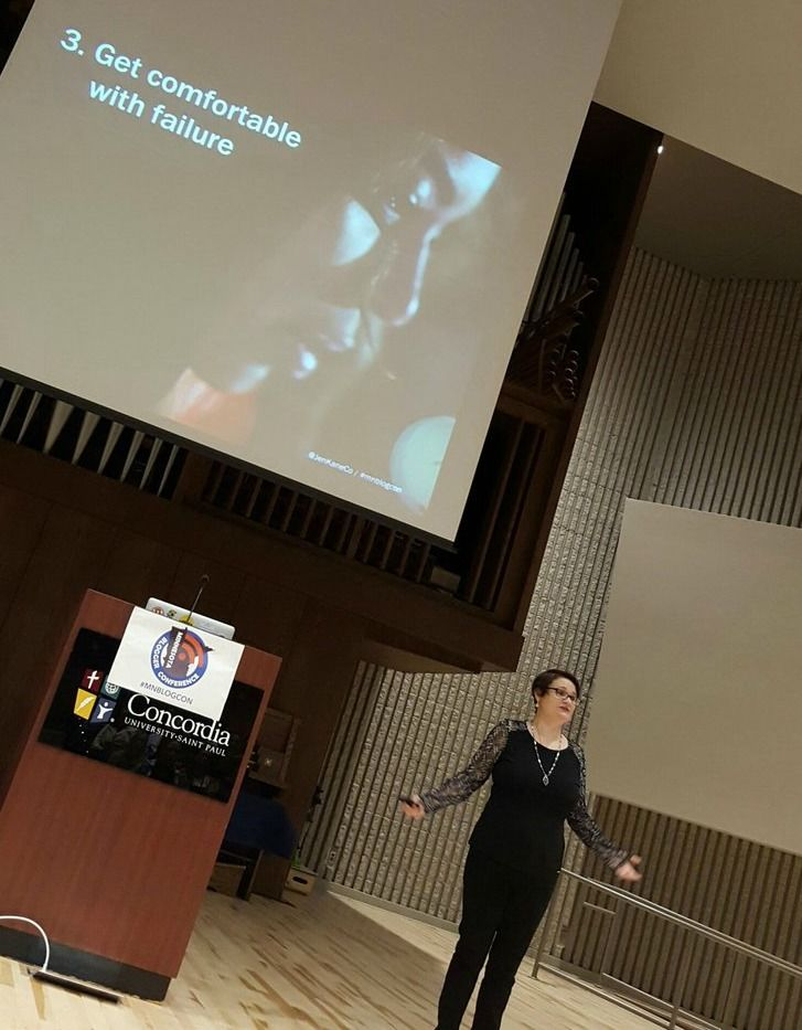 Keynote at MN Blogger Conference on 10/15/16
