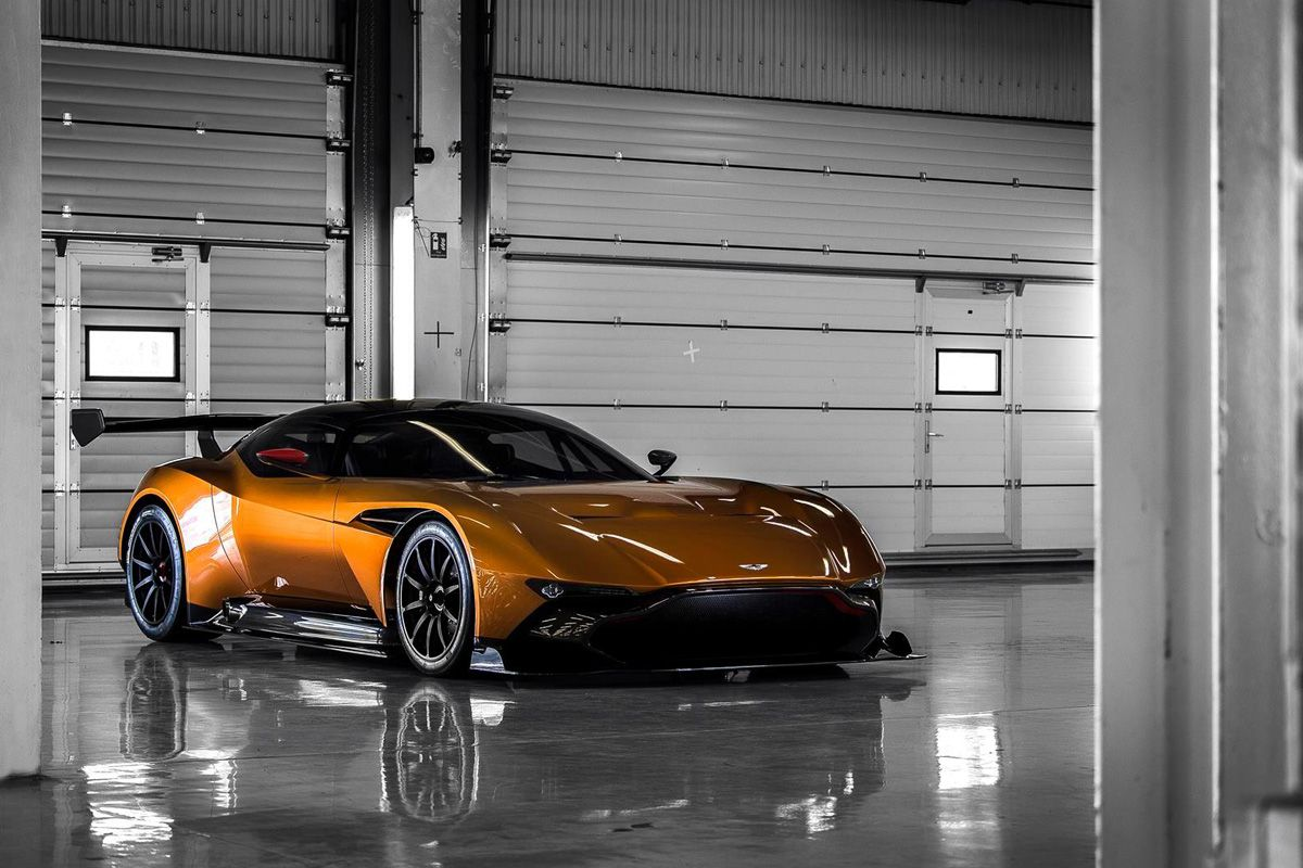 Aston martin s vulcan will be given an insane street legal makeover
