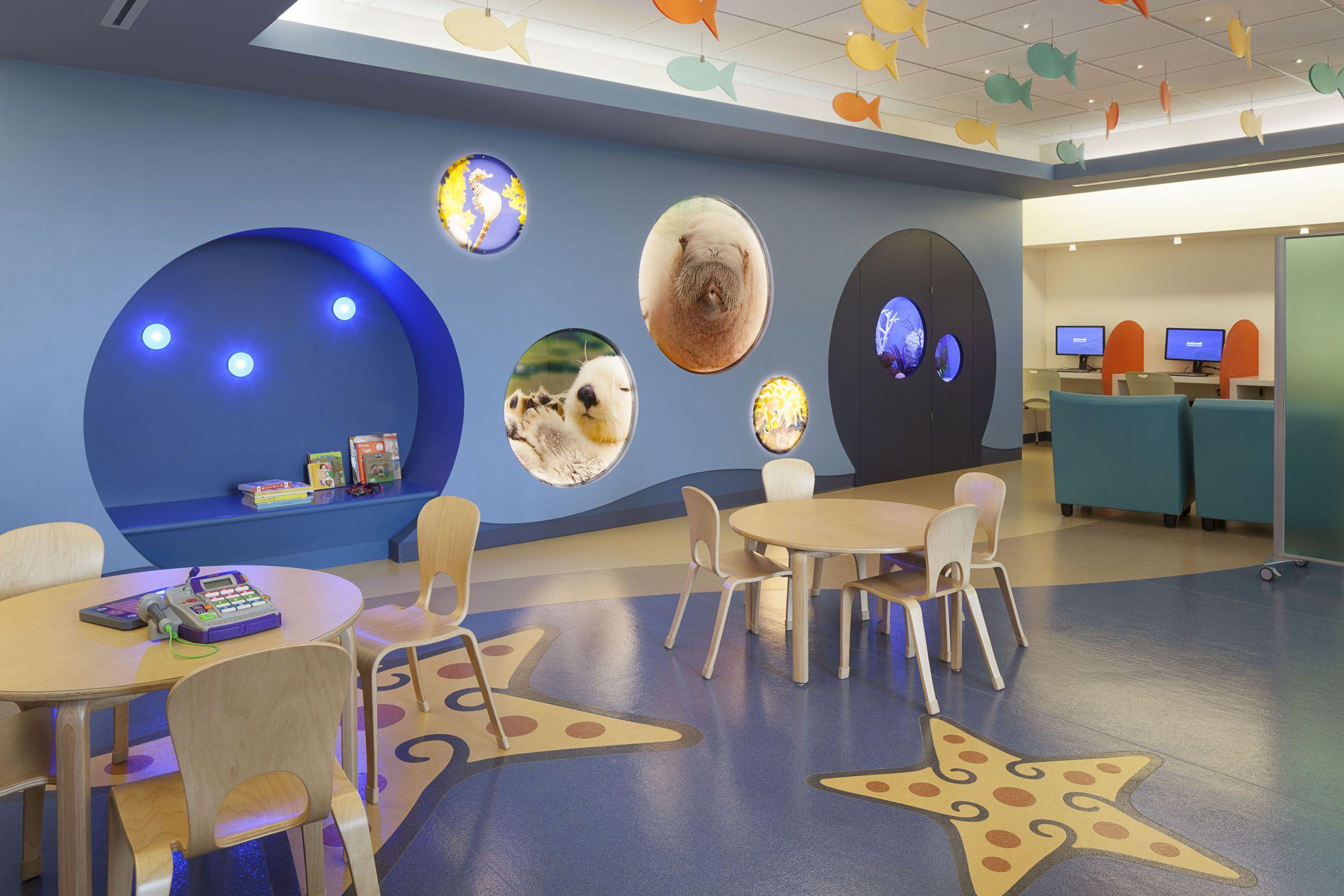 Lobby Mary Bridge Childrens Hospital Tacoma WA Patient