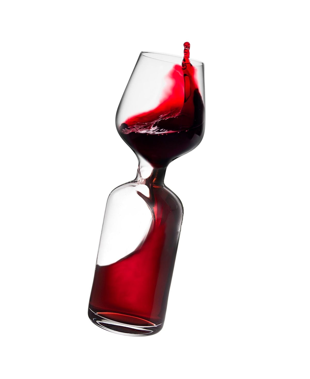 Godinger Glass In A Bottle Wine Goblet Reviews Glassware Drinkware Dining Macy S In 2020 Wine Goblets Wine Wine Bottle