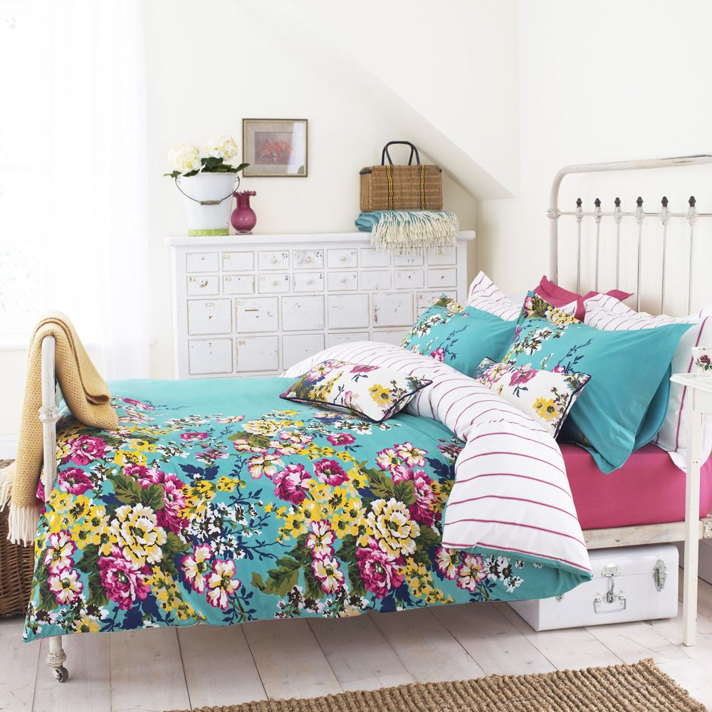 Joules Cambridge Floral Quilt Cover Love This Joules Bedding