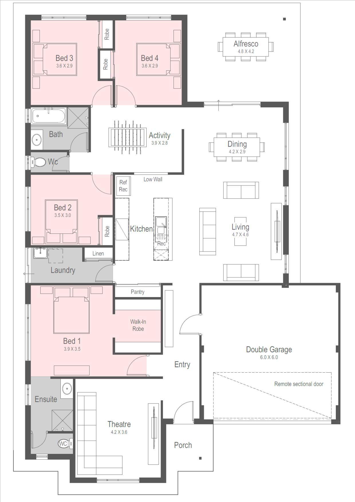 House Designs New Home Designs Perth Homebuyers Centre Building Plans House House Plans House Floor Plans
