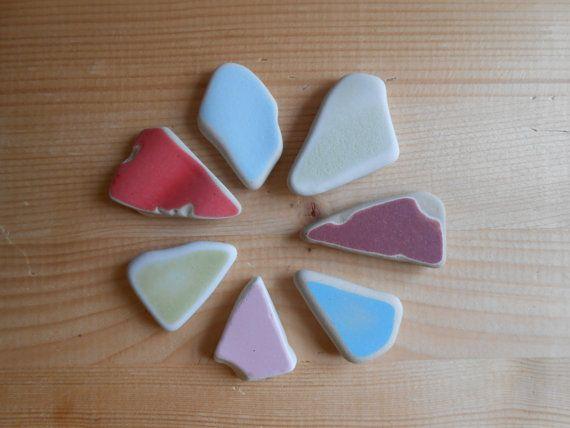 Sea pottery mix di colori per creazioni di di lepropostedimari