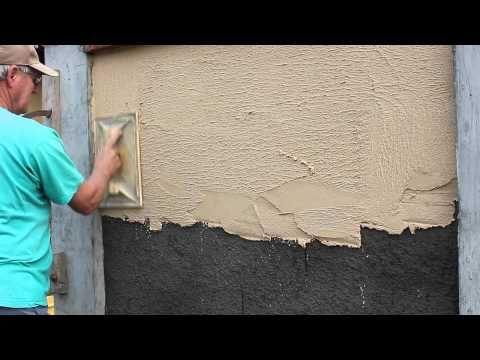Comment Enduire un Mur Extérieur en 2 Couches Construction and