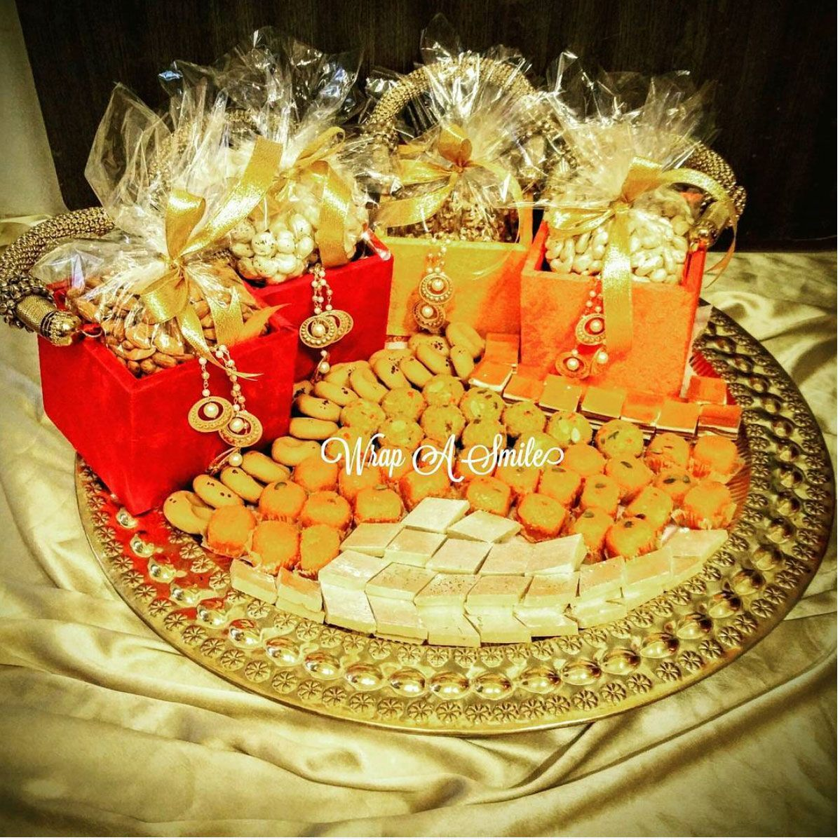 Mithai And Dry Fruit Platters All Decked Up For The Giving
