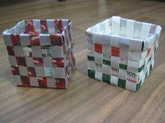 aus alt mach neu sch ne k rbchen aus tetrapacks schachteln boxen verpackungen pinterest. Black Bedroom Furniture Sets. Home Design Ideas