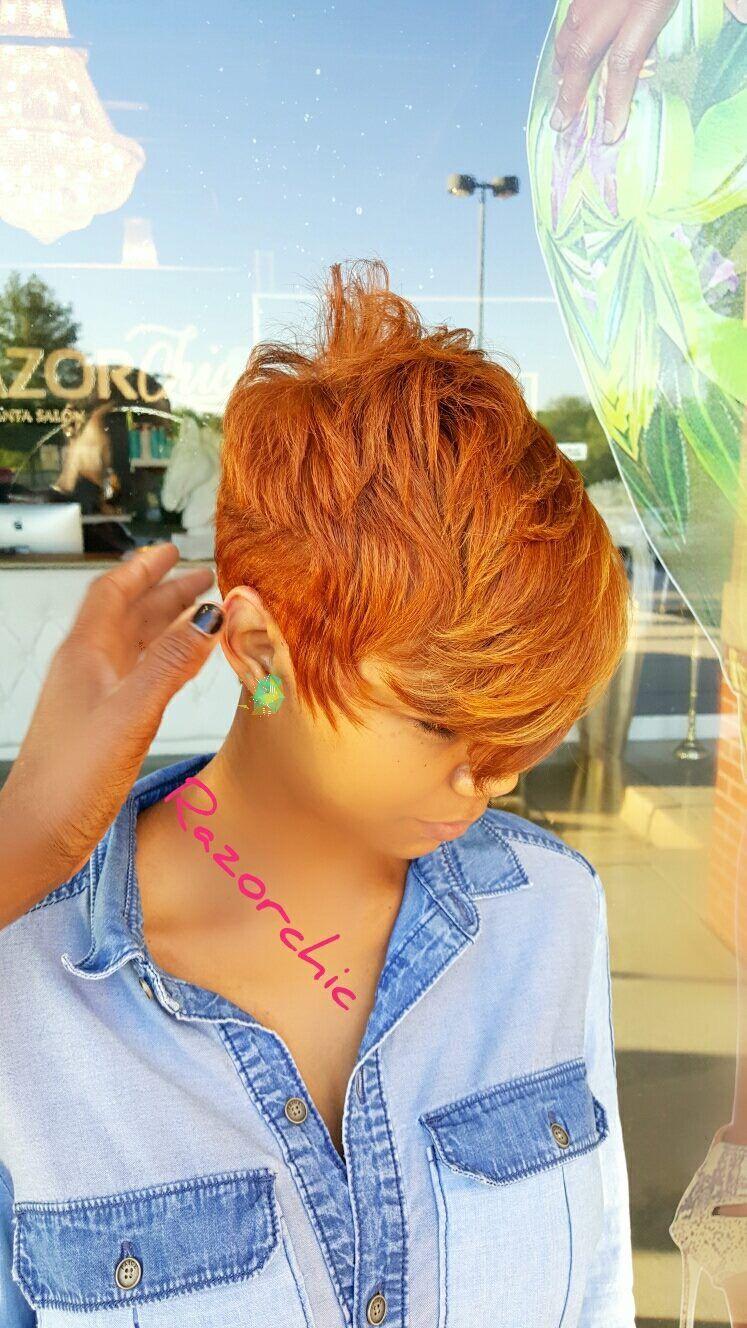The yes cut oooohhhh razorchic hair pinterest short hair