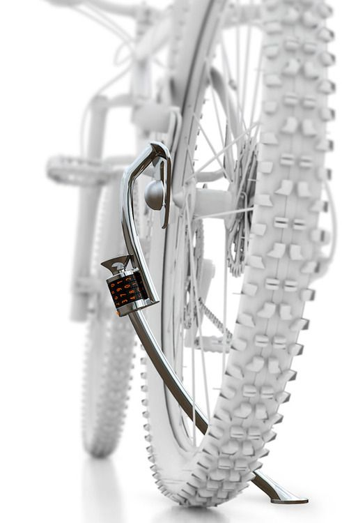 Via Quick Stand Lock For Bicycle By Soohwan Kim Junho Yoon