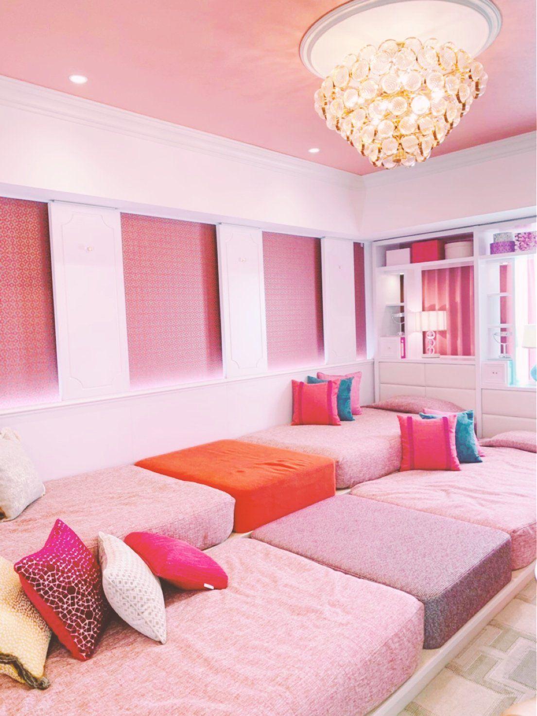 ピンク色が基調のgirlyルーム Triproud 2020 ルーム ピンク色