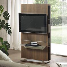 Porta Tv orientabile con libreria Lounge | mensola | Pinterest | TVs ...