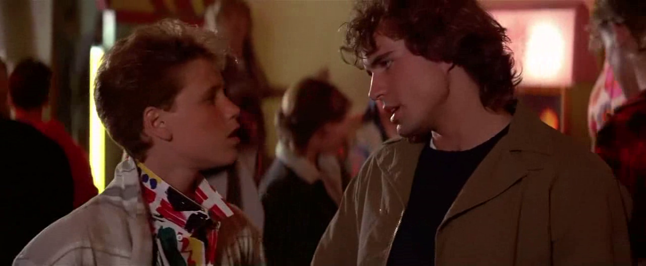 Yet another screencapture from The Lost Boys (1987