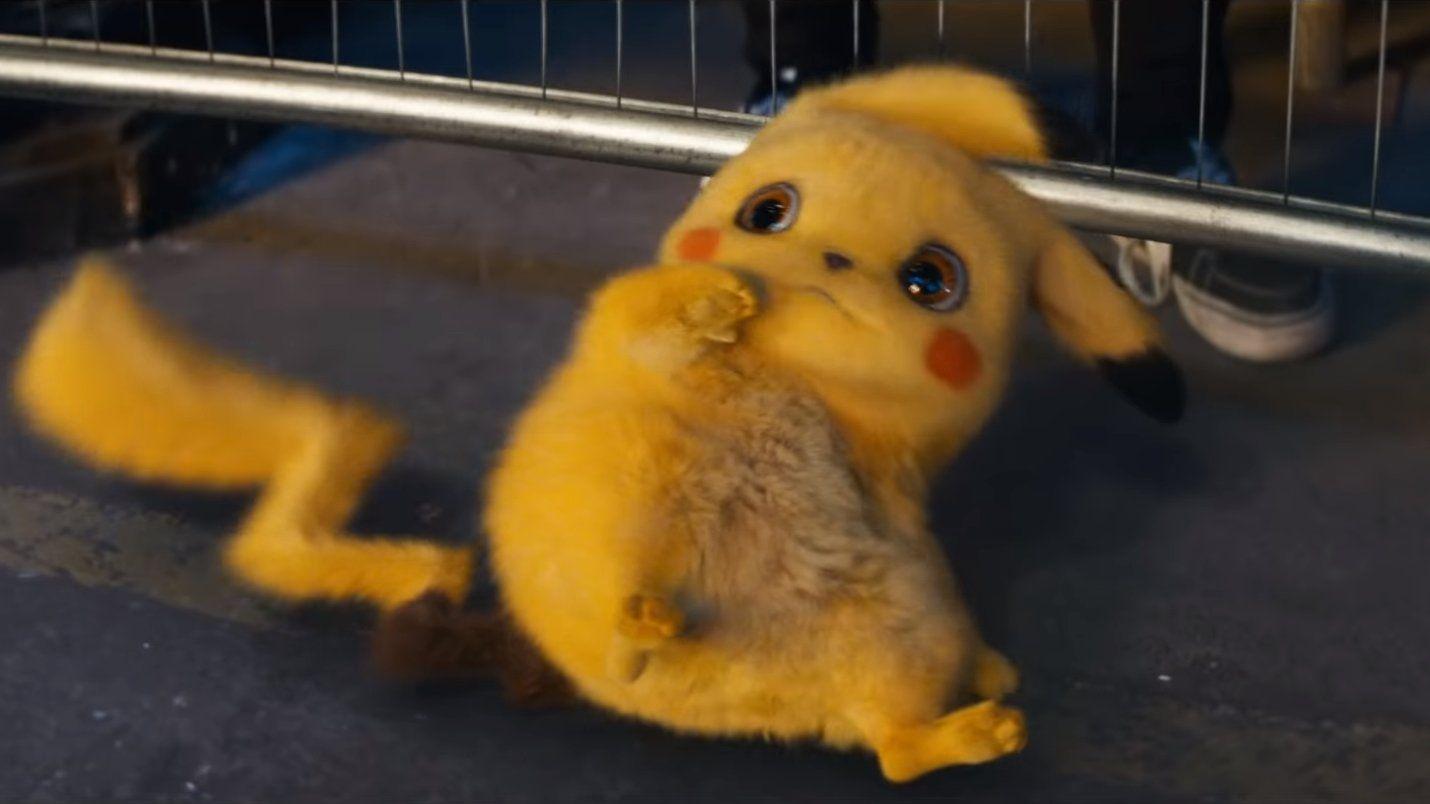 Cowering Detective Pikachu In 2020 Pikachu Pikachu Art Cute