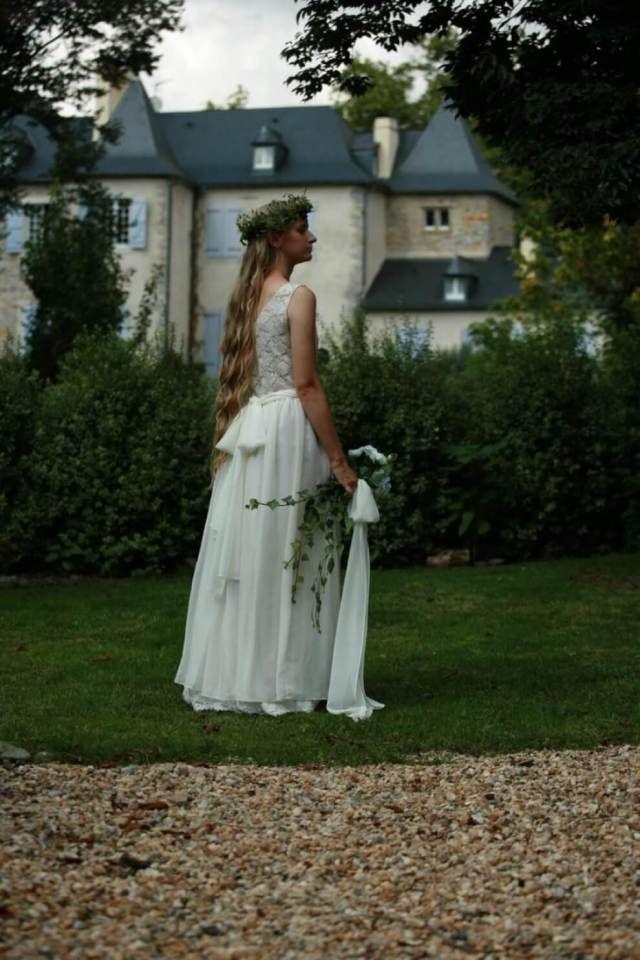 30 Beautiful Simple White Cotton Wedding Dress | Cotton wedding ...