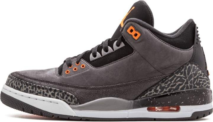 2e9745e4b43 Air Jordan 3 Retro Night Stadium/Total Orange Black 'Fear Pack' in ...