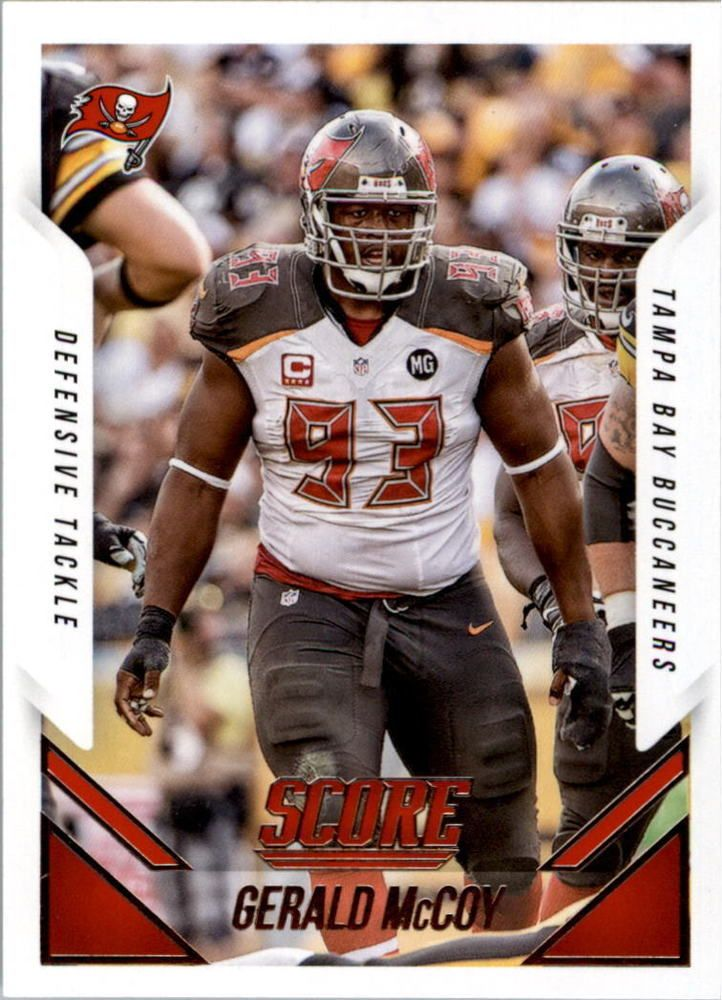 2015 Score Football Card 81 Gerald Mccoy Tampa Bay Buccanneers Nfl Tampa Bay Buccaneers Football Buccaneers Football Football Cards