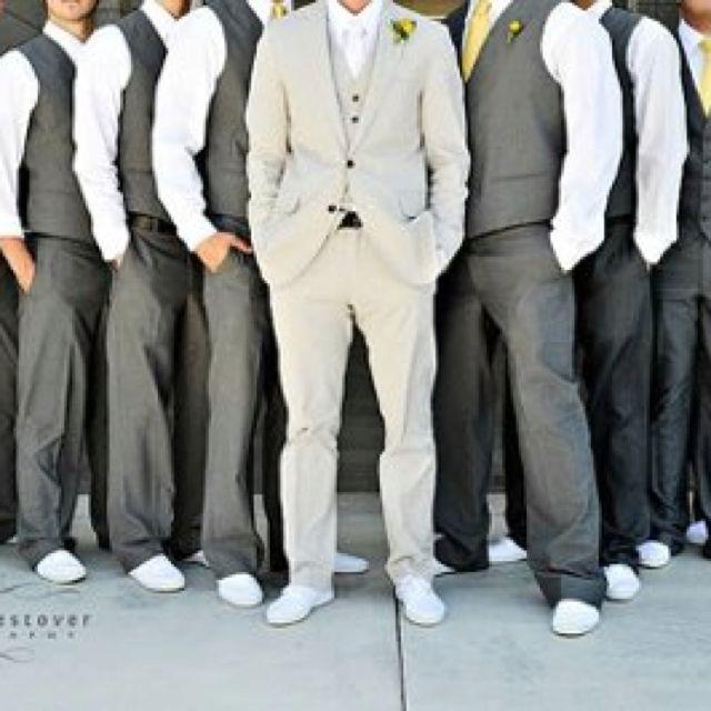 Mens Almond Wedding Shoes Groomsman MJ014217