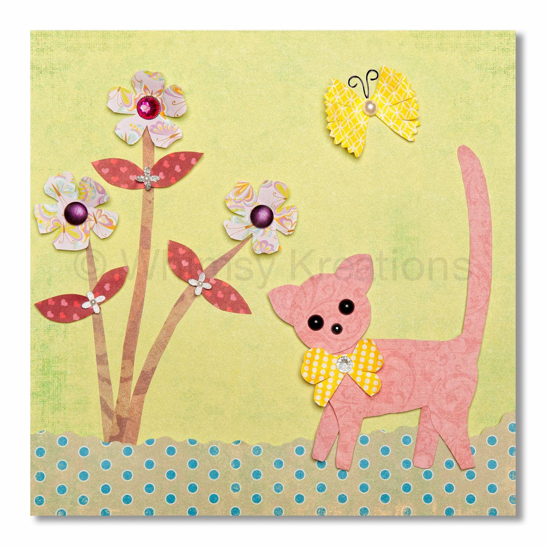 Children\'s Art, Nursery Art, Kids Decor, Nursery Wall Art, Kitty ...