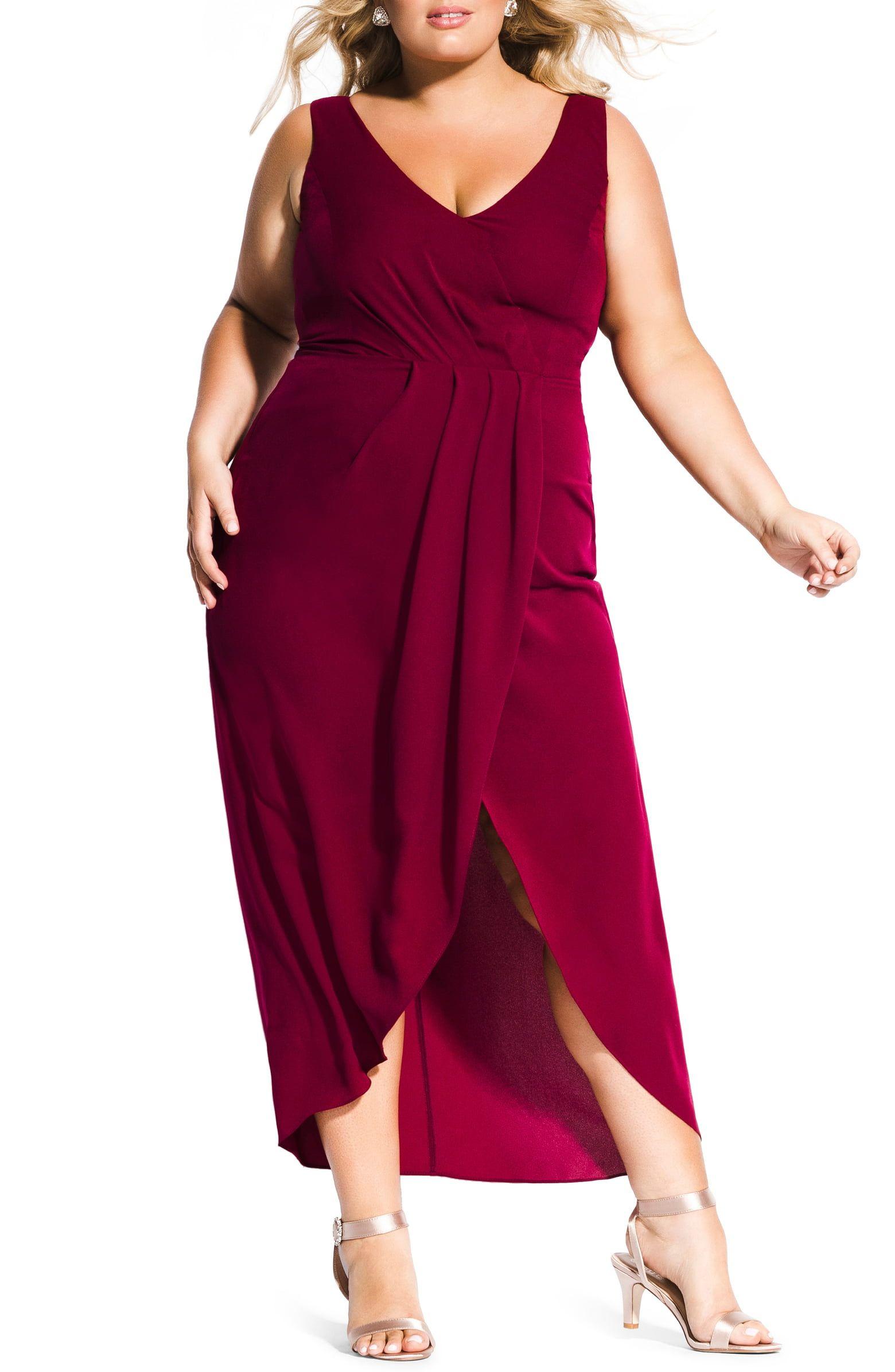 City chic cherish maxi dress plus size nordstrom