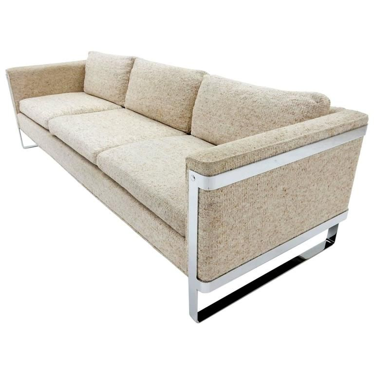 1970 Milo Baughman Chrome έ 1 Sofa Dream Furniture