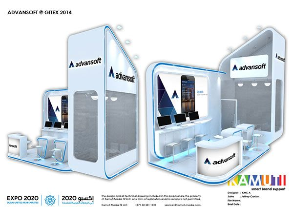 2014 Stand Designs Part 3 on Behance