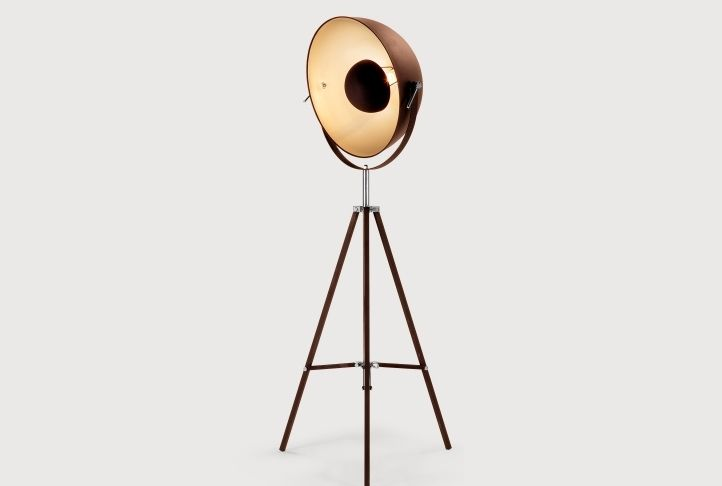 Chicago Cinema Tripod Floor Lamp | Absolute Home