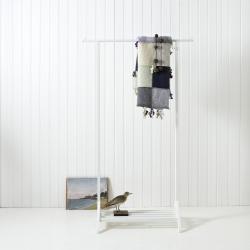 Tøjstativ, Hvid, Oliver Furniture
