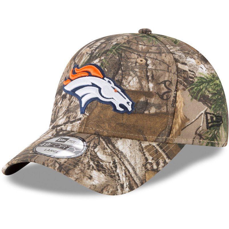hot sales 99fd0 f6584 Denver Broncos New Era Realtree 49FORTY Fitted Hat – Realtree Camo