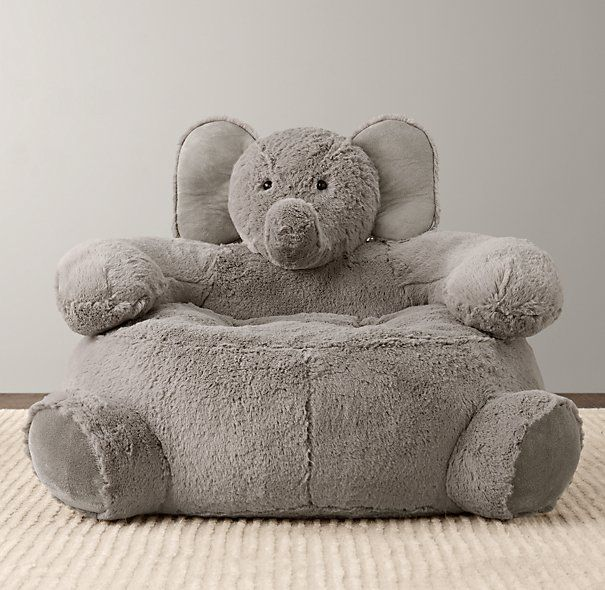 Superior Cuddle Plush Elephant Chair