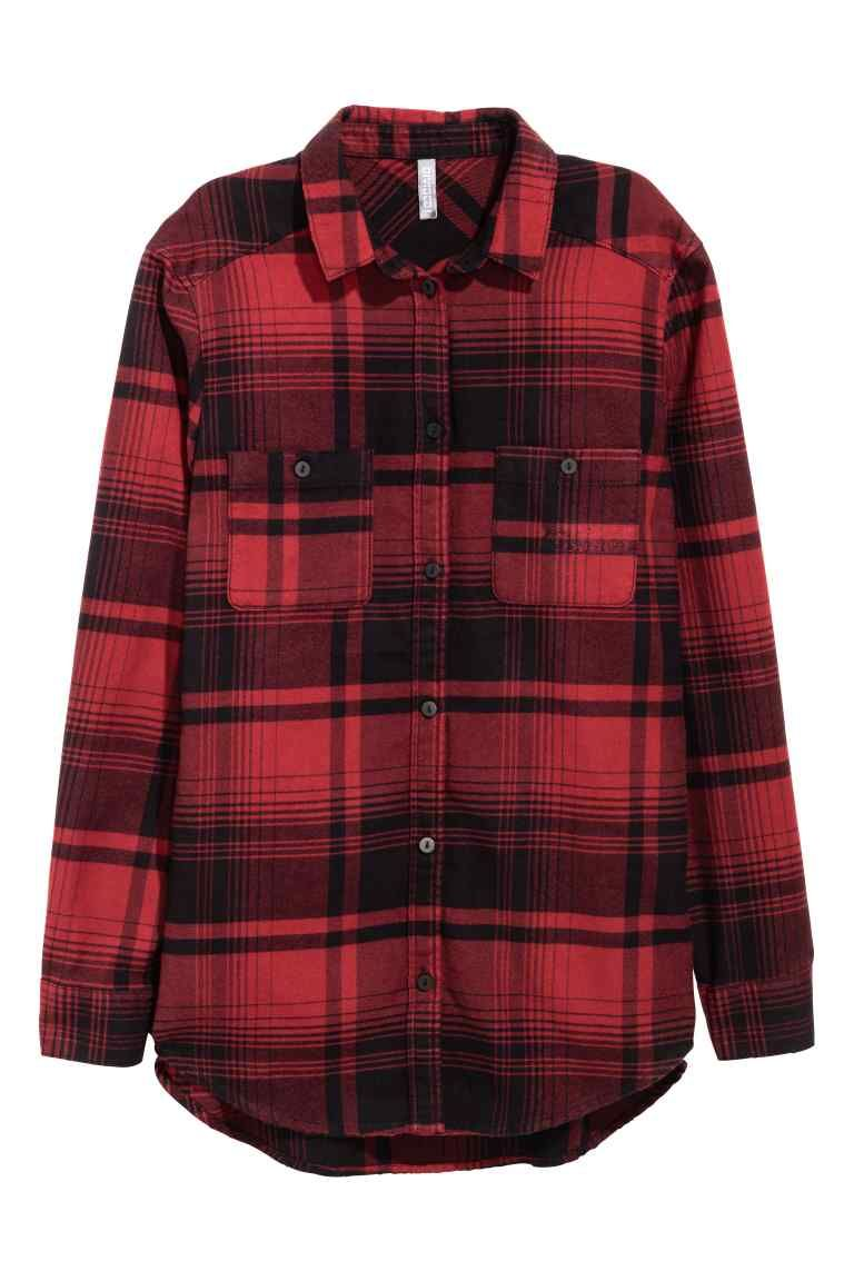 Dark red flannel  Camisa aos quadrados flanela  Pinterest  Clothing accessories and