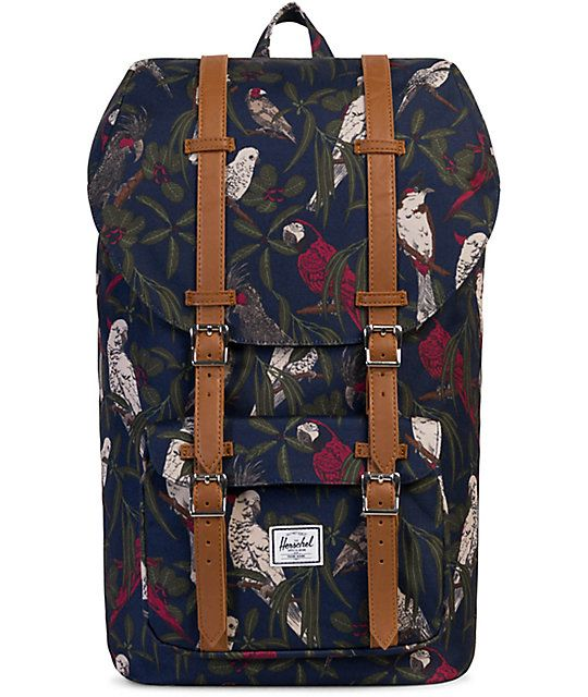 0f634c8a47a Herschel Supply Co. Little America Peacoat Parlour 25L Backpack ...