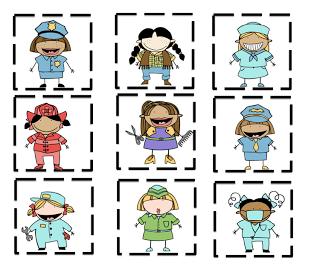 Preschool Printables Community Helpers PreK Community Helpers