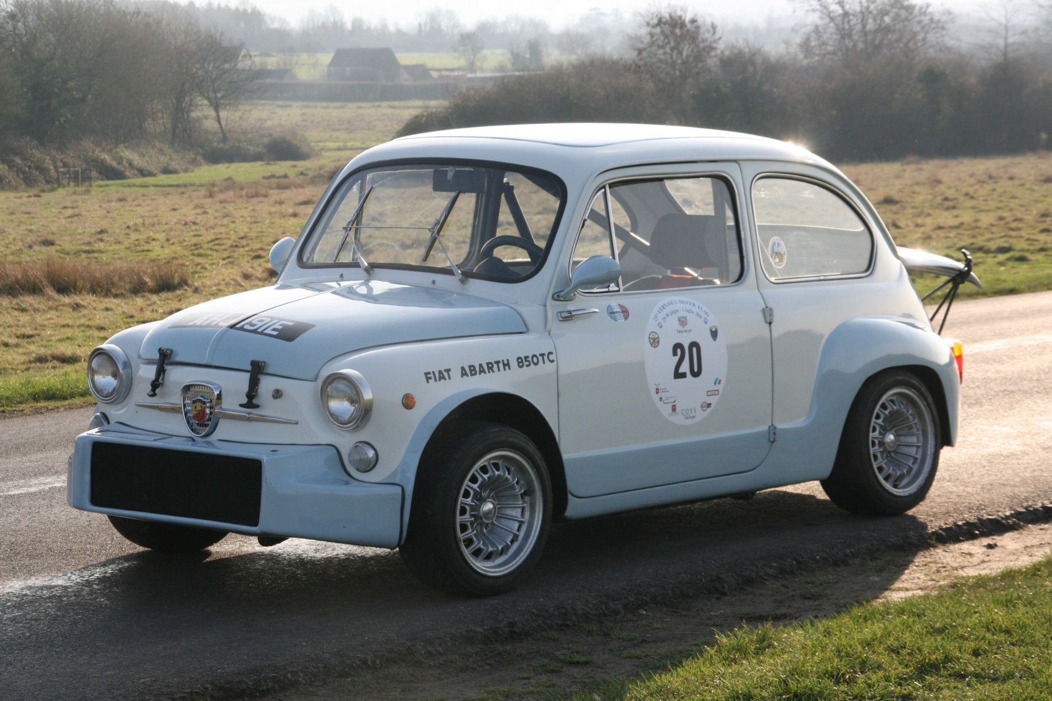 1963 Fiat Abarth 850tc Berlina With Images Classic Cars Fiat