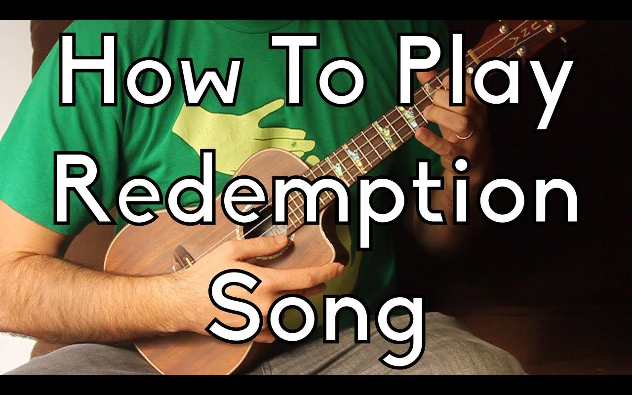 How To Play Bob Marley Redemption Song On Ukulele Wtabs Easy