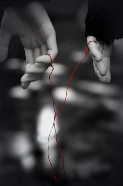 fb71df70e Red thread of fate that binds two souls that were destined to meet...may  get tangled or stretched, but never broken. According to this legend, the  gods tie ...