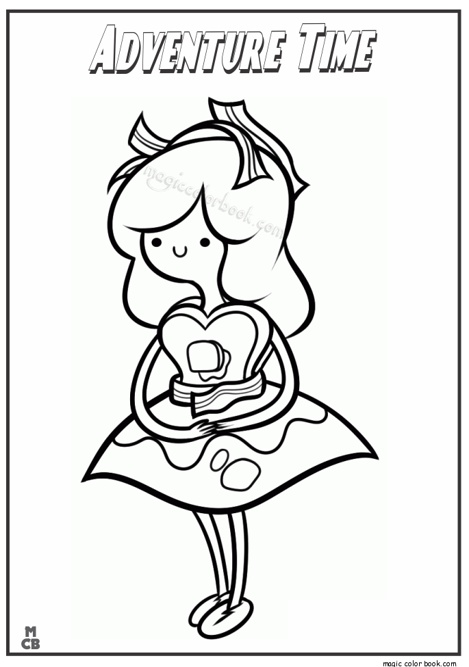 Adventure Time Coloring Pages 07 | need to try | Pinterest ...