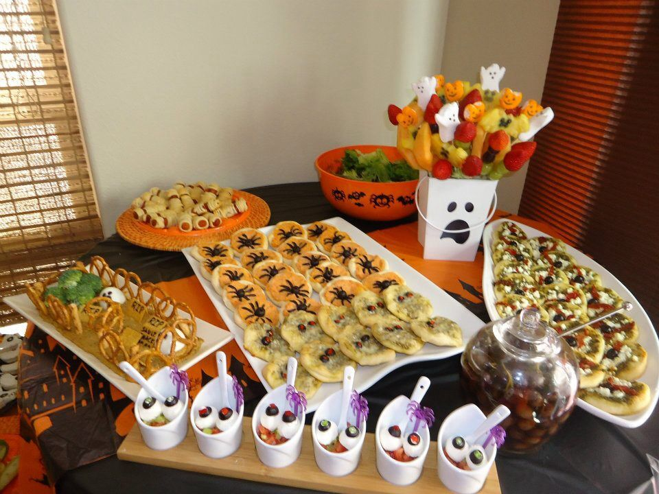 Halloween party finger food Party finger foods, Homemade