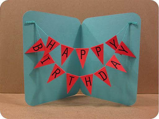 Diy Projects Crafts To Dos Pinterest Happy Birthday Cards