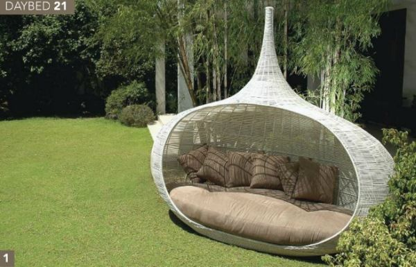 Outdoor Daybed Furniture, Outdoor Unique Furniture
