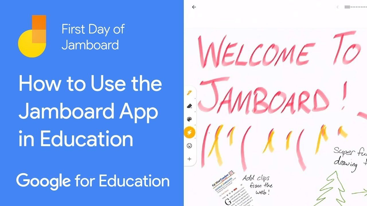 How To Use The Jamboard App In Education First Day Of Jamboard Google Education Problem Based Learning Teacher Tech
