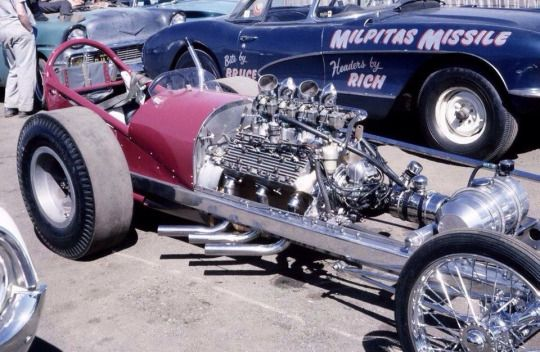 flathead ford dragster