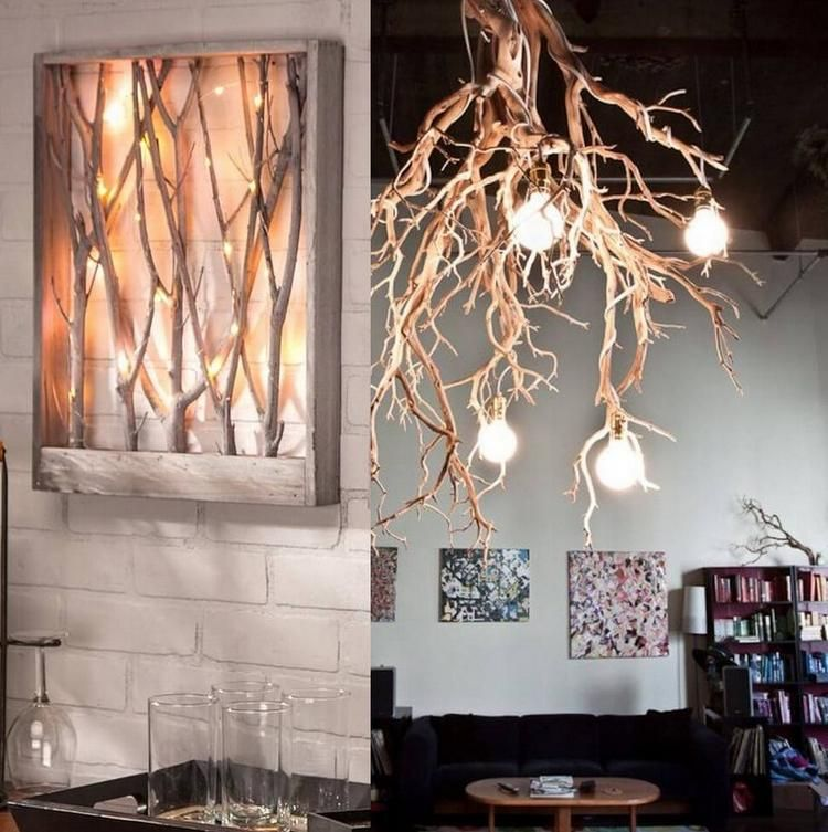 Creative Decorating Ideas With Branches Dried Tree You Can Inpsire Creative Decor Dry Tree Dry Branches Decoration