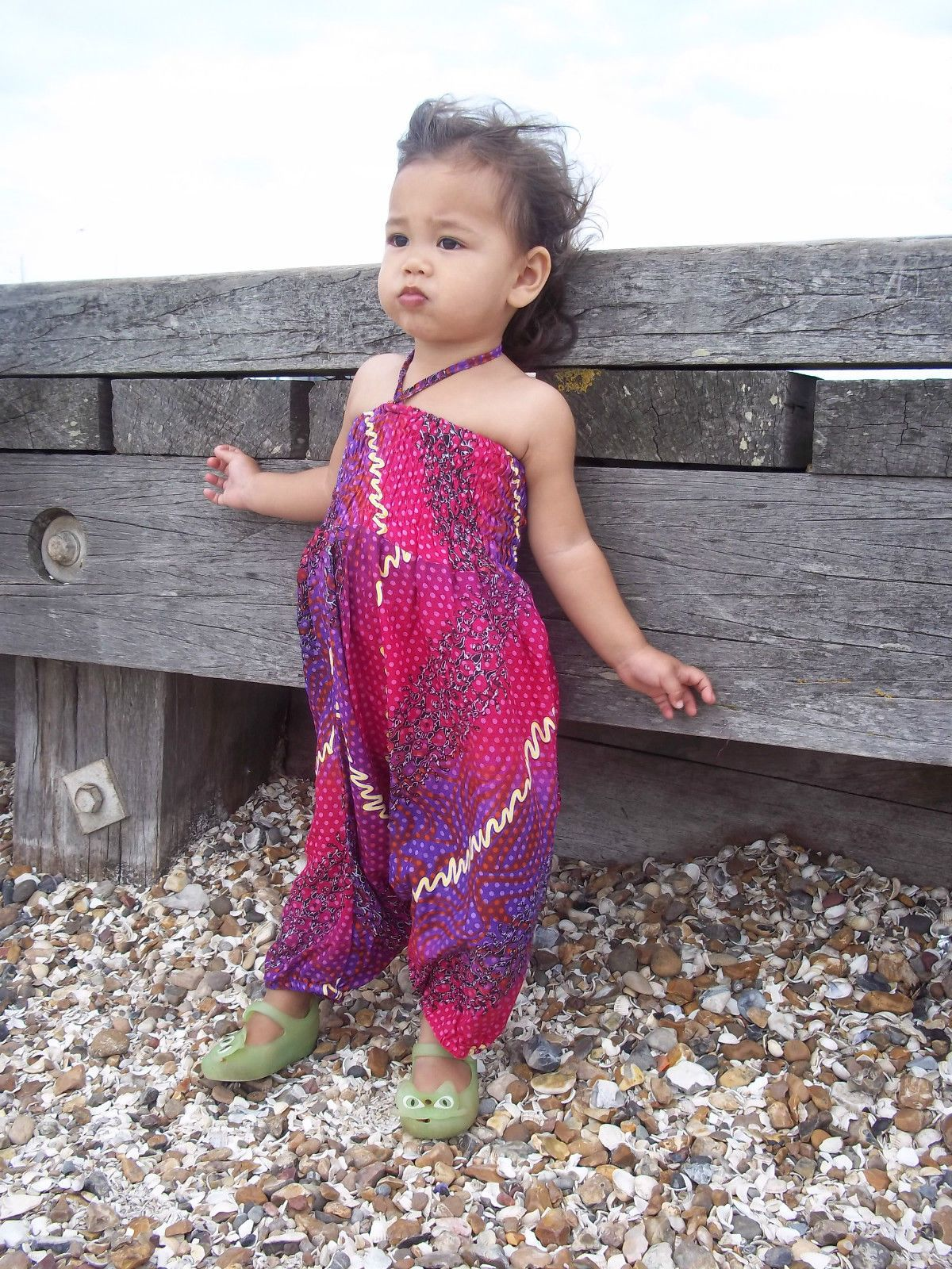8ccb9788f Childrens girls baby cute harem pants jumpsuit baggy summer hippy ...