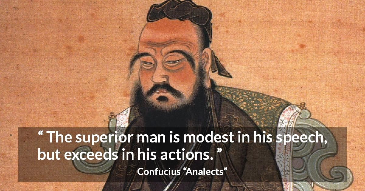 Confucius About Modesty Analects Wisdom Quotes Confucius Quotes Funny Confucius Quotes