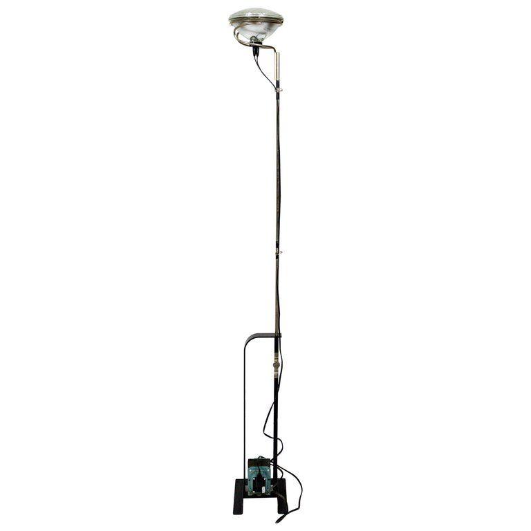 Black Castiglioni Toio Industrial Floor Lamp By Flos En 2020 Ouverture
