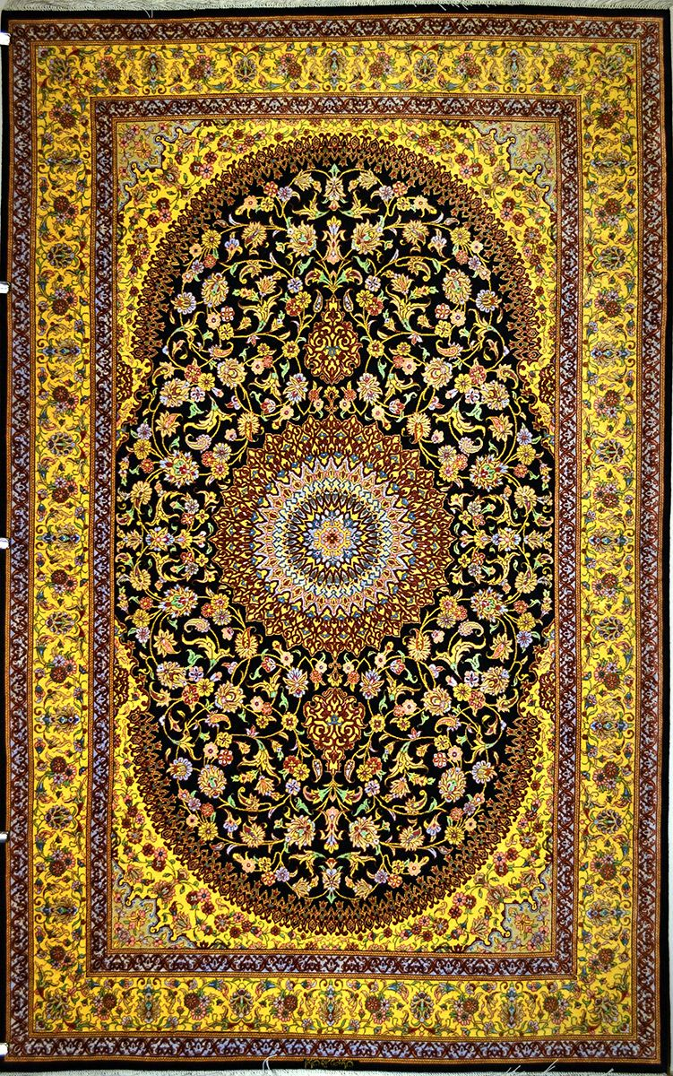 Qum Silk Persian Rug Exclusive Collection Of Rugs And