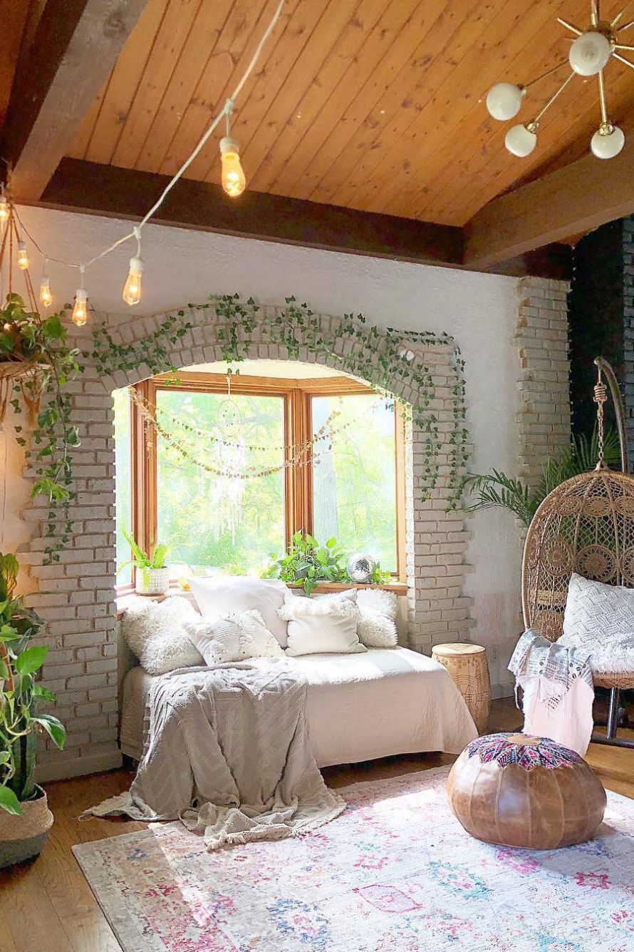 20 Bedroom Designs for a NATURE LOVER   Elcune   Aesthetic bedroom ...