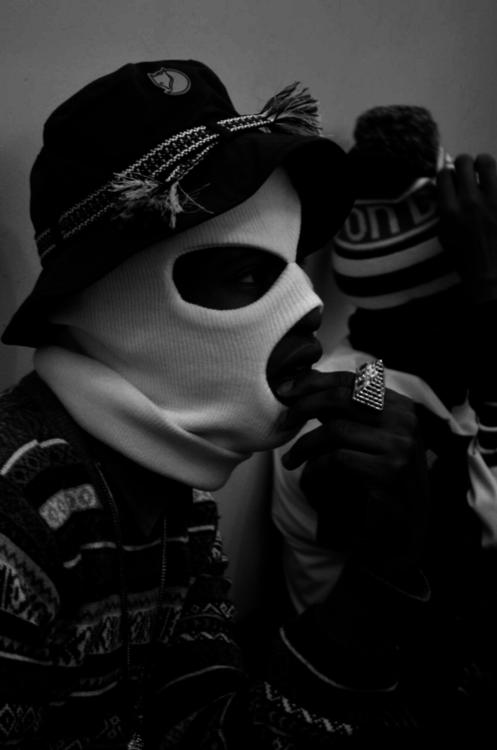 Ski Mask Aesthetic Smoking