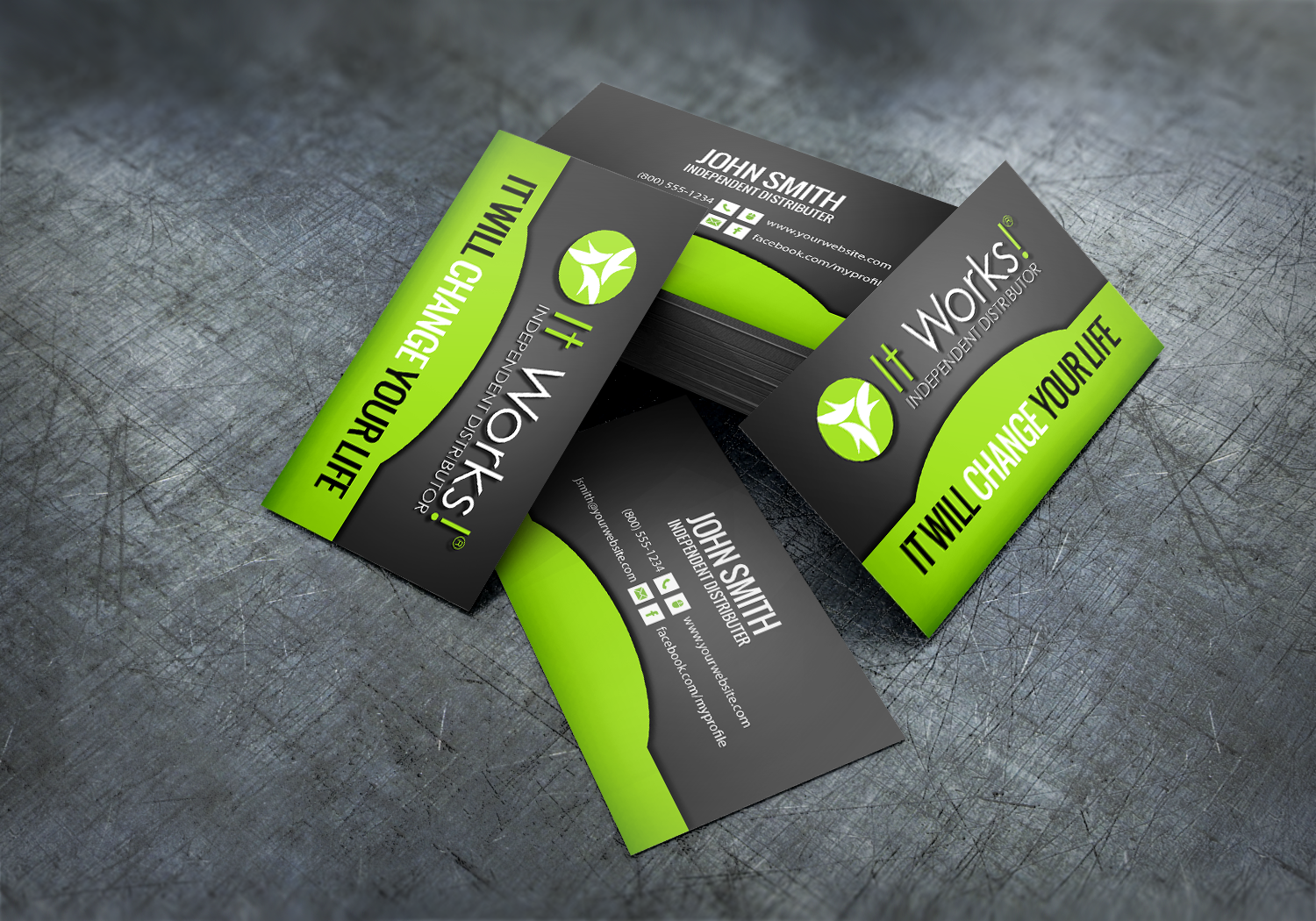 New Business Cards Are Now Here And Ready Just For You It Works Distributors Mlm Itworks Hair Nail It Works Printing Business Cards Free Business Cards